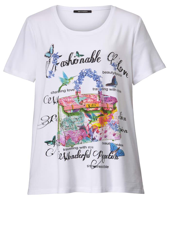 Shirt mit farbintensivem Druck