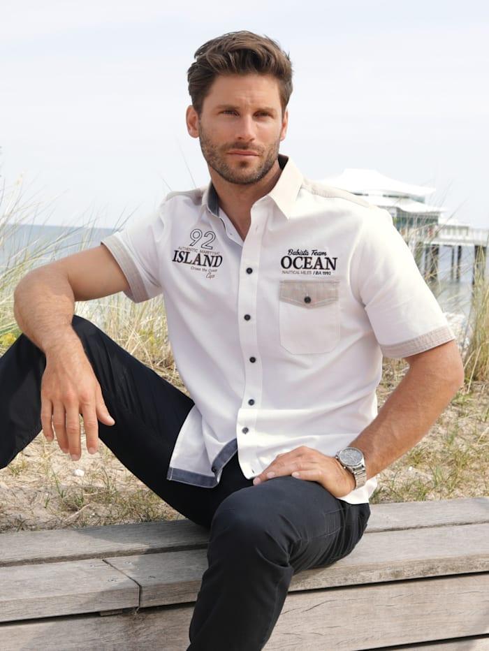 BABISTA Overhemd van zuiver katoen, Wit