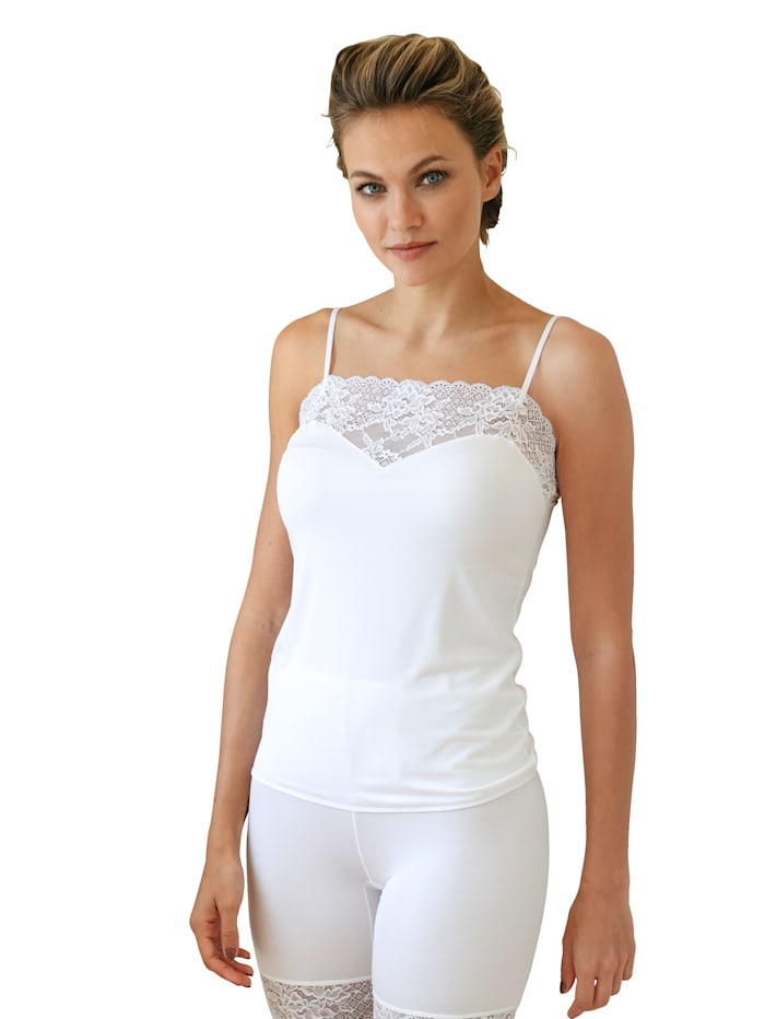 Camisole with adjustable straps
