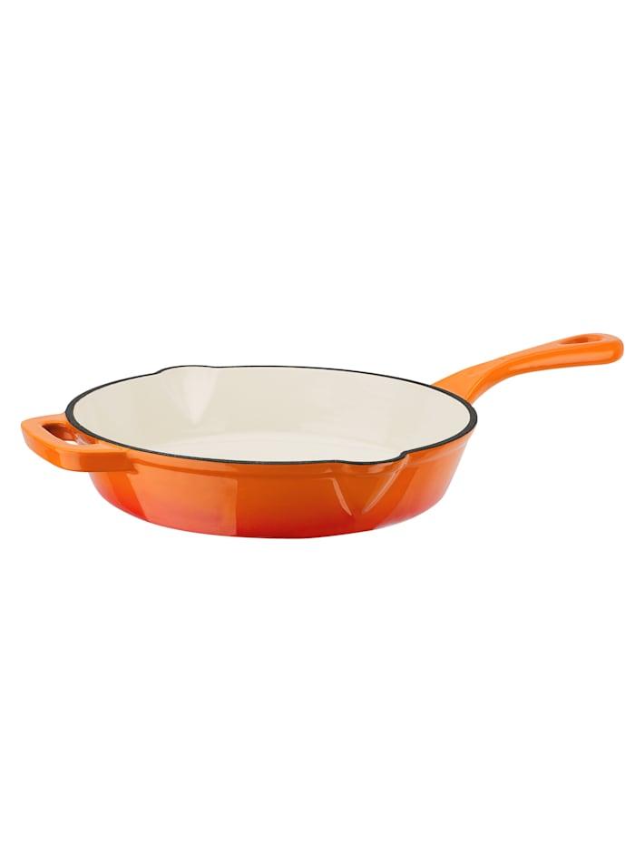 GSW Gusseisen Pfanne 26cm Orange Shadow, Orange
