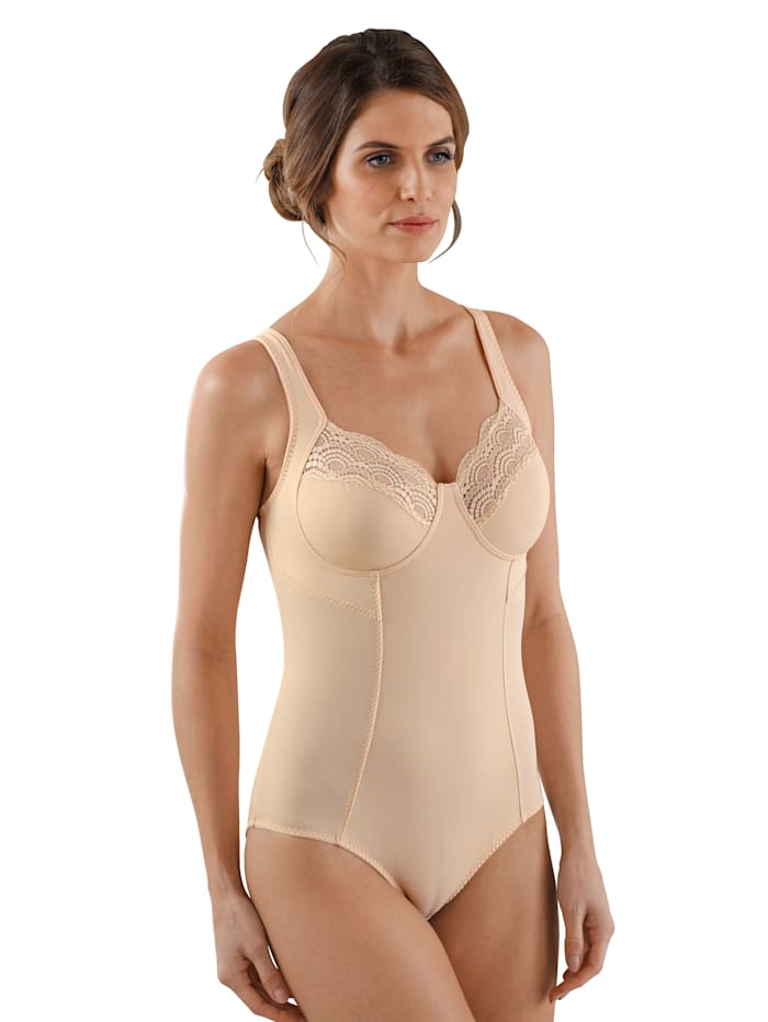 Harmony Body avec broderie supplémentaire au dos, Nude