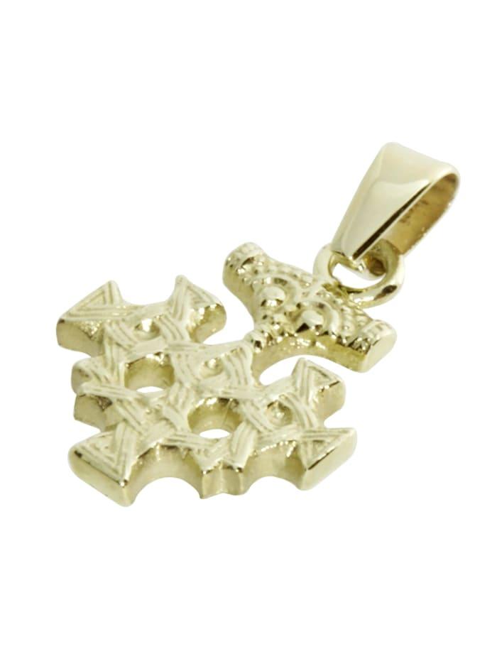 Anhänger - Hiddensee 15 mm - Gold 585/000 - ,