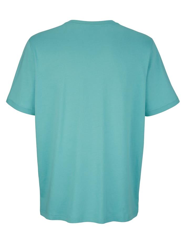 T-shirt med litet tryck fram