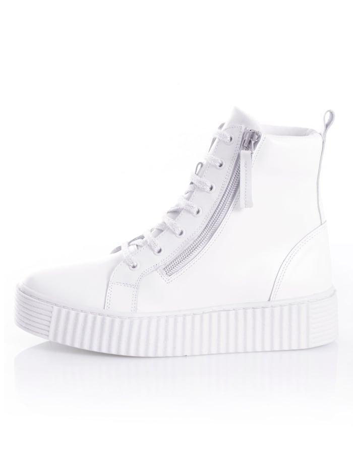 Sneaker aus Rindsnappaleder