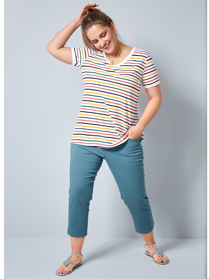 Janet & Joyce Shirt aus Baumwolle, Multicolor