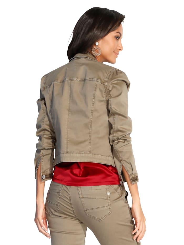 Jacke im Jeansjacken-Stil