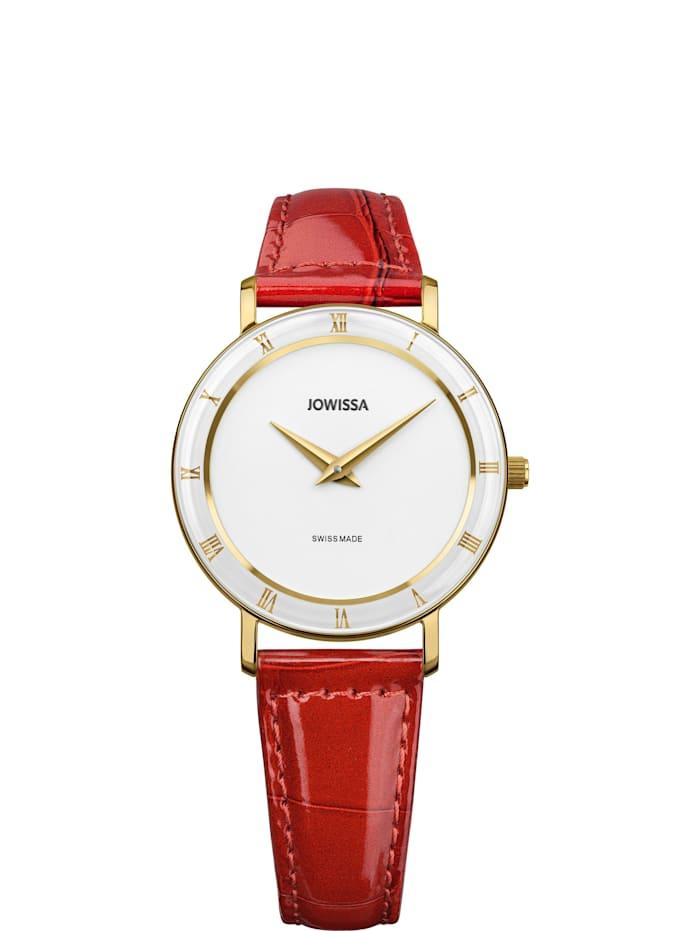 Jowissa Quarzuhr Roma Swiss Ladies Watch, weiß