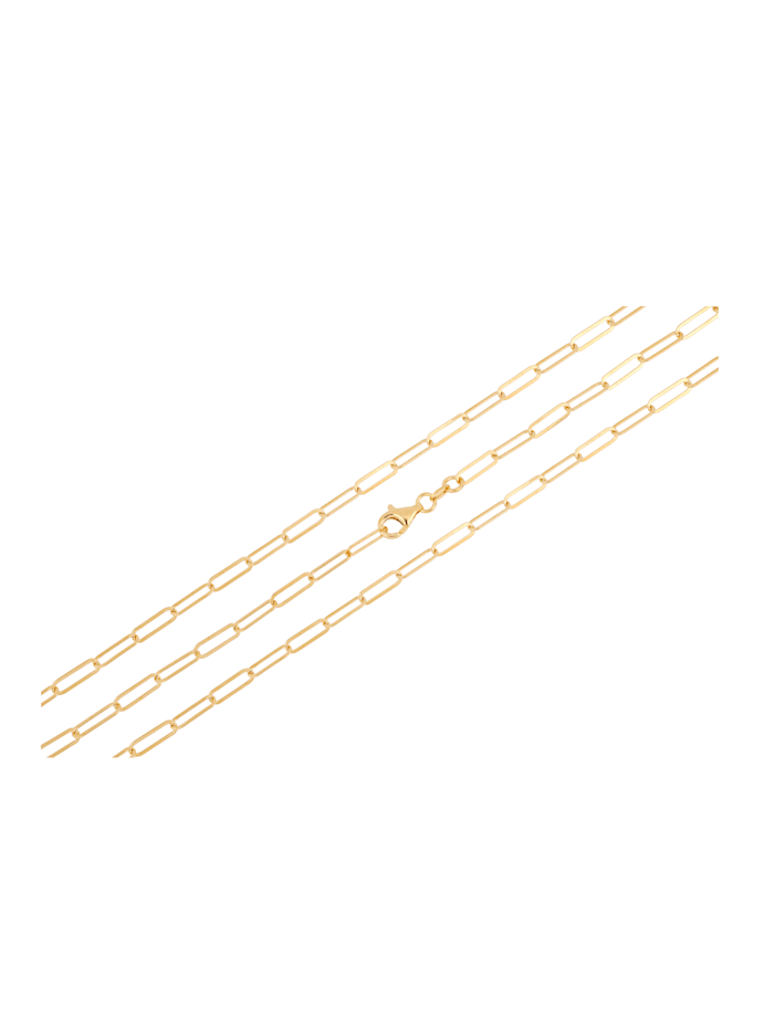 Ankerkette in Silber 925, vergoldet