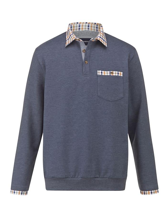 BABISTA Sweatshirt met zacht geruwde binnenkant, Blauw