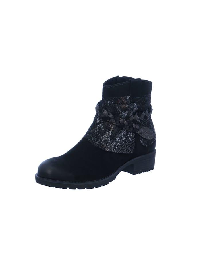 Tamaris Damen Stiefelette in schwarz, schwarz