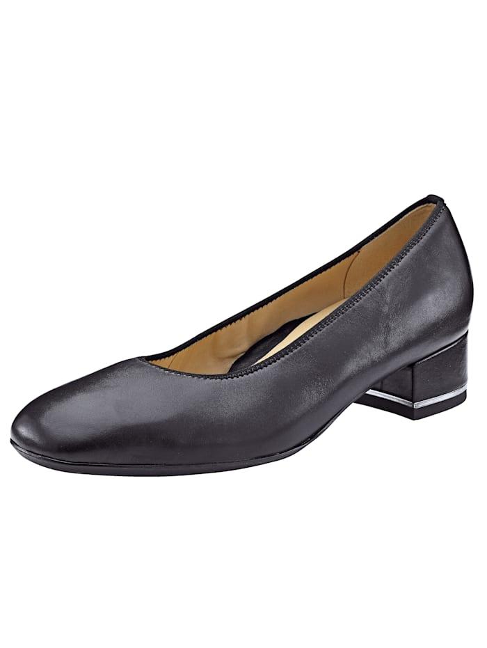 Ara Court Shoes, Black