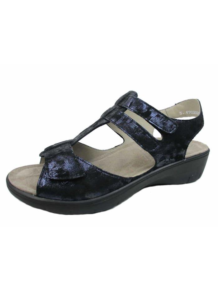 Solidus Sandale, blau