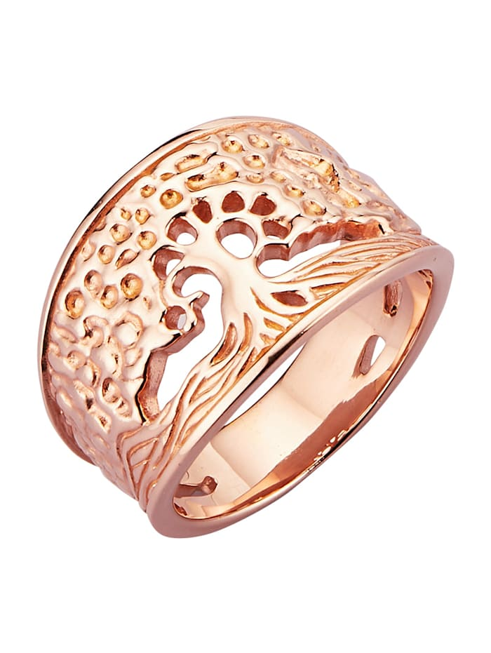 Diemer Trend Lebensbaum-Ring `Lebensbaum`, Rosé