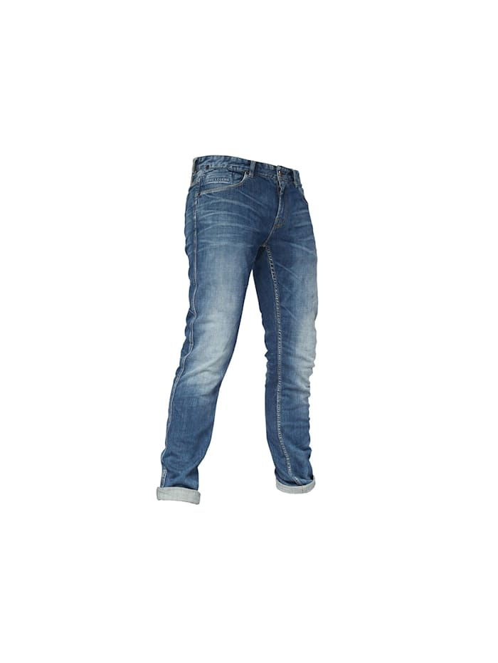 PME Legend Tapered Leg Jeans, blau