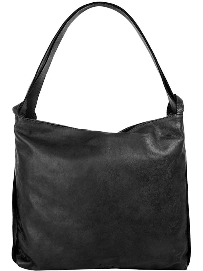 forty° Rucksack-Shopper, schwarz