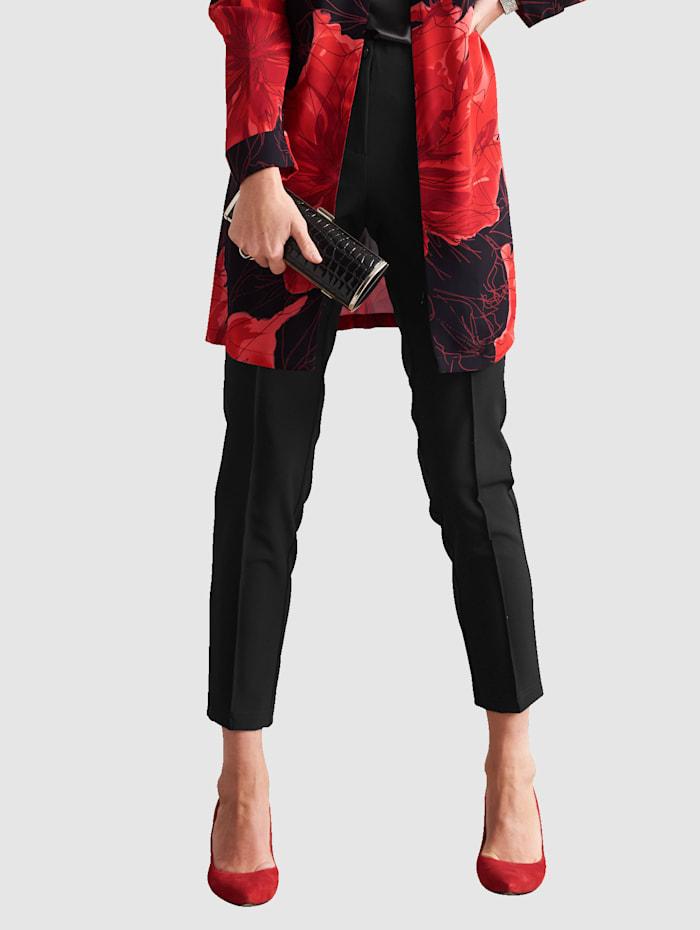 Pantalon avec passepoils fantaisie