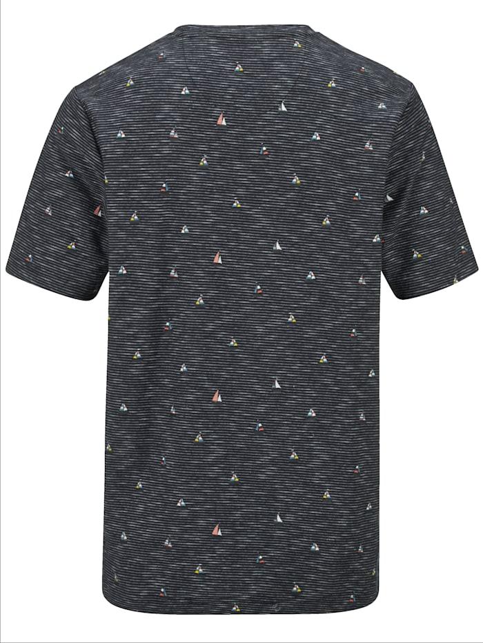 T-Shirt mit modischem Druckmuster