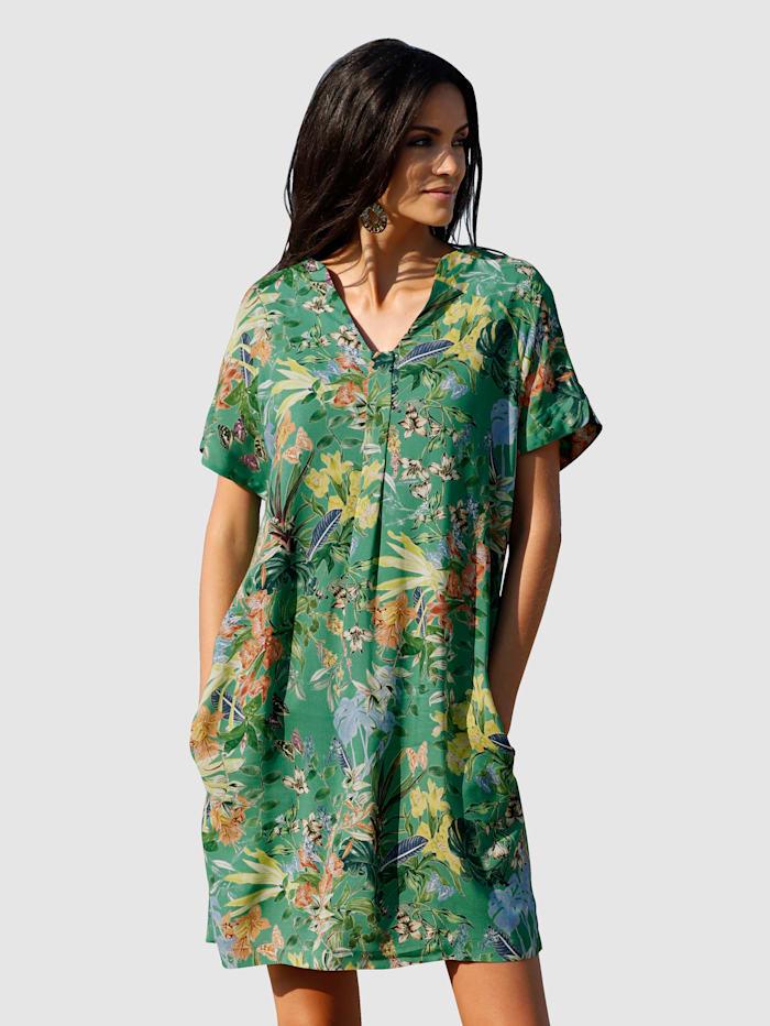 Kleid im allover Blütendruck