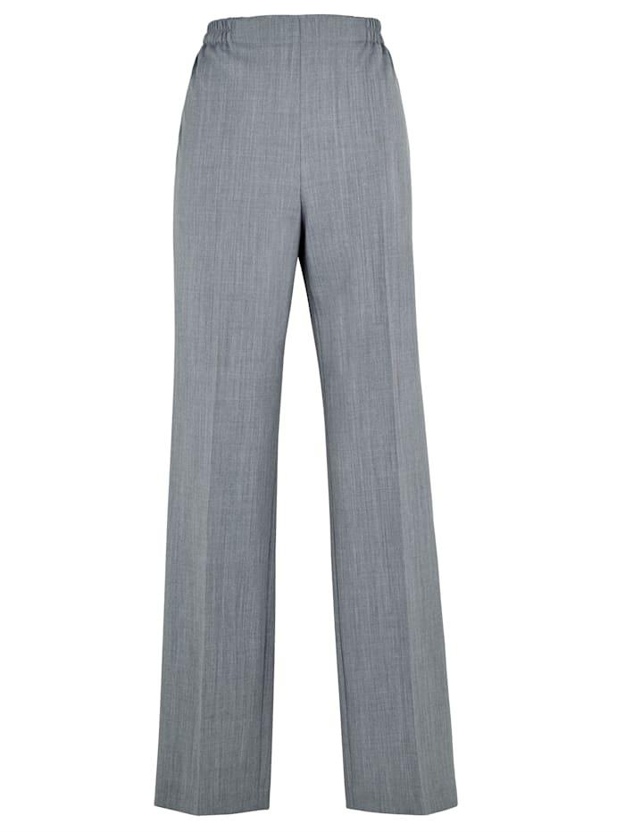 Pantalon en laine mélangée italienne