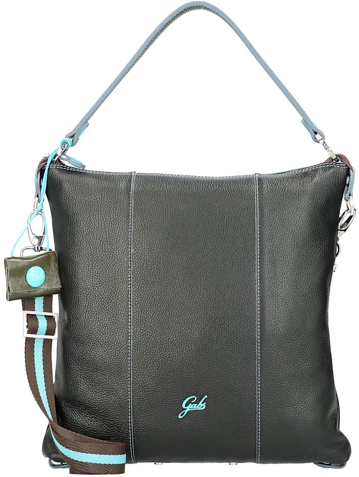 Gabs Sofia Plus Schultertasche Leder 33 cm, black