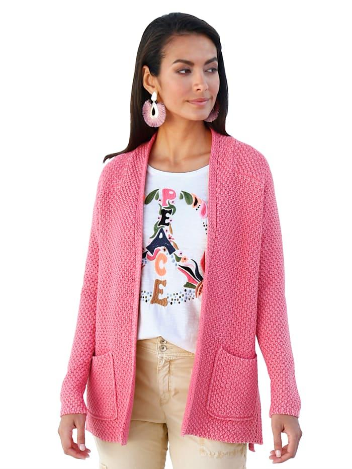 Lieblingsstück Vestje met opgestikte zakken, Pink