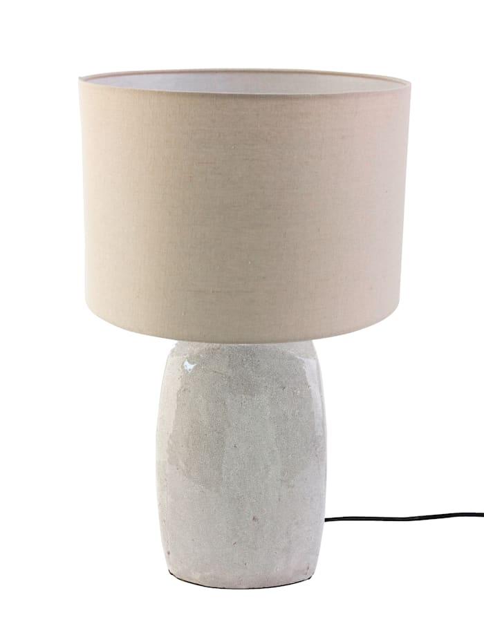 MARAVILLA Lampe de table, Crème/blanc
