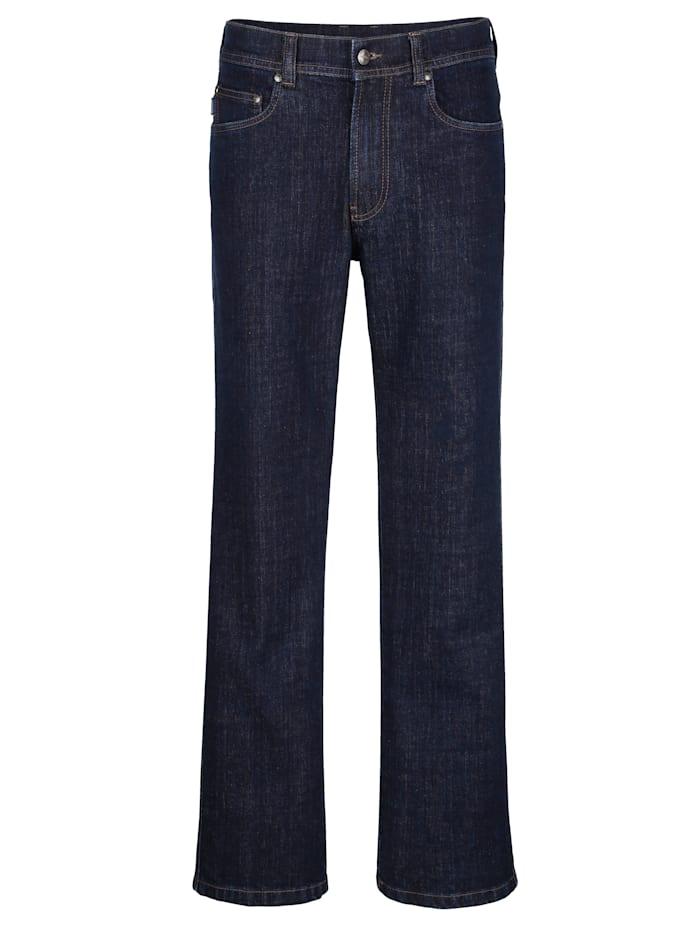 Brühl Jean 5 poches dans une qualité de marque, Dark blue
