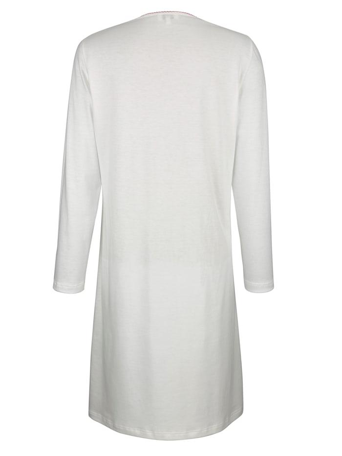 Nachthemd mit elegantem Paisley-Druck