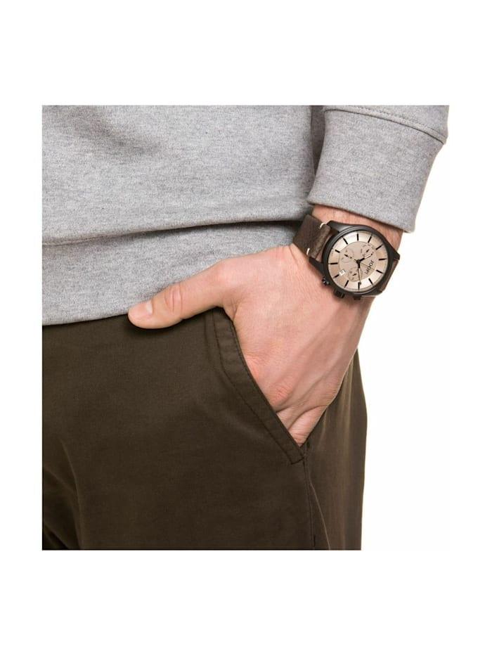 Chronograph für Herren, Edelstahl