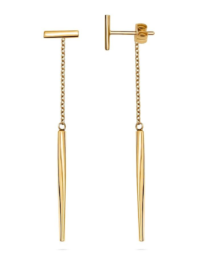 CHRIST Gold Damen-Ohrstecker 375er Gelbgold