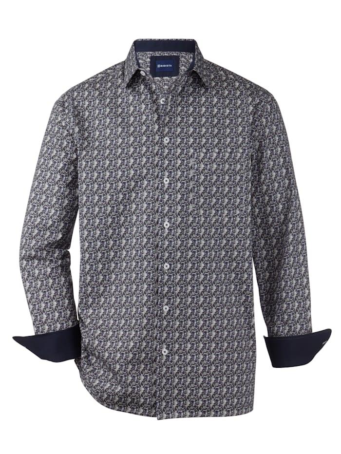 BABISTA Overhemd met verschillende dessins, Blauw/Grijs