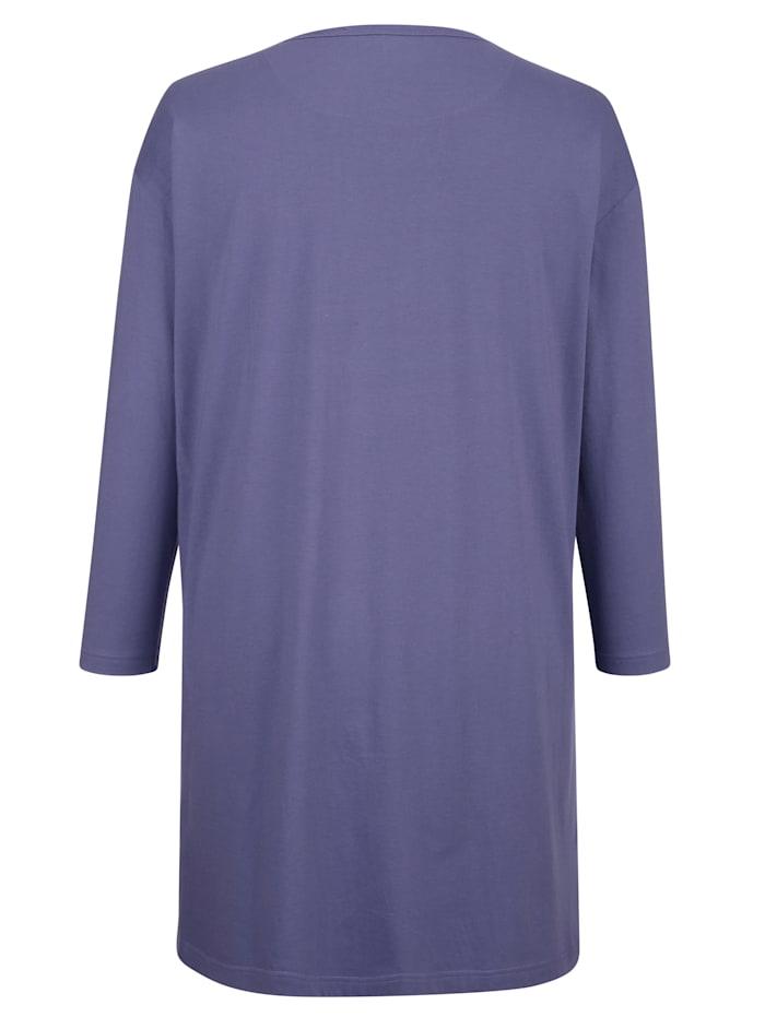 Nachthemd mit winterlichem Elchdruck