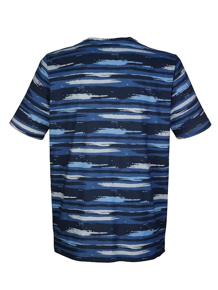 Tričko s potiskem proužků