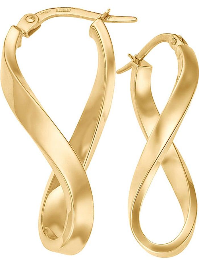CHRIST GOLD CHRIST Gold Damen-Creolen 333er Gelbgold, gold