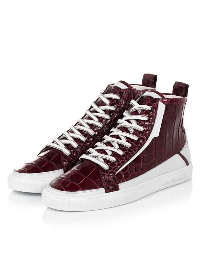 Kennel & Schmenger Hightop-Sneaker, Bordeaux