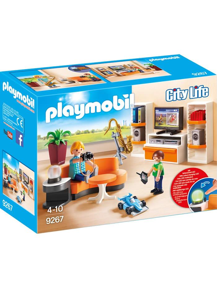 PLAYMOBIL Konstruktionsspielzeug Wohnzimmer, bunt/multi