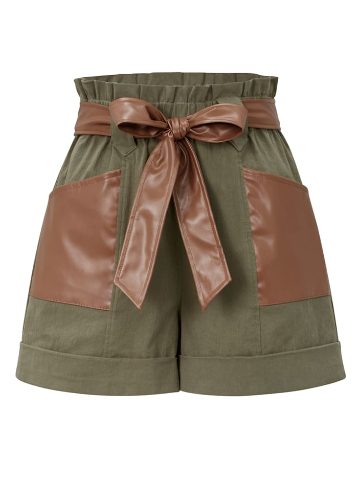 ROCKGEWITTER Shorts, Khaki