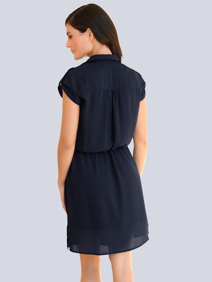 Kleid in leicht fallender Chiffonqualität