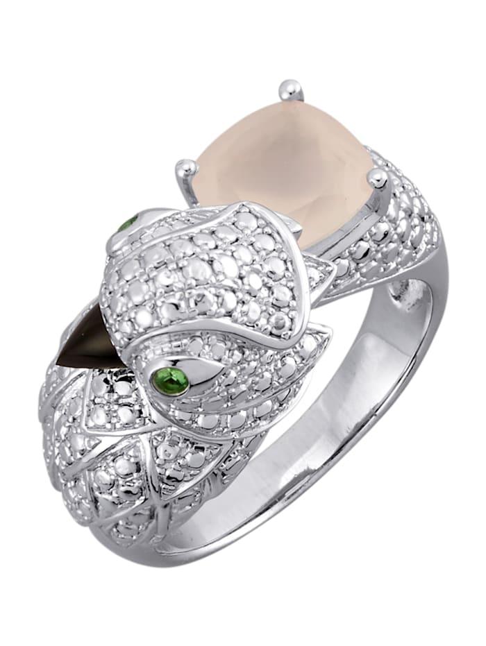 Ring i silver 925, Rosa