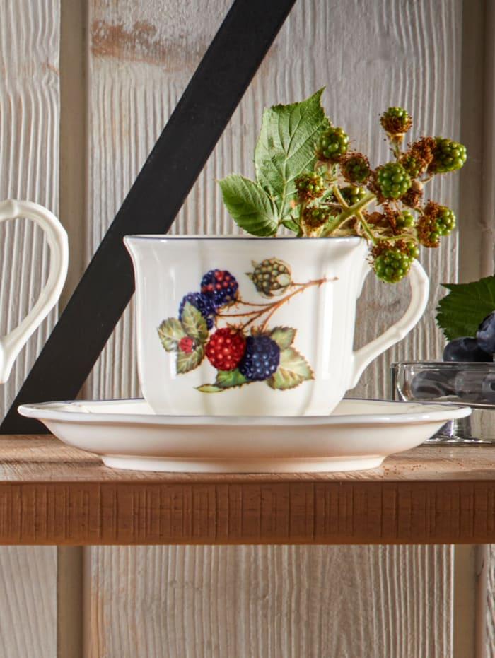 Villeroy & Boch Kaffeeobetasse 'Cottage', mehrfarbig