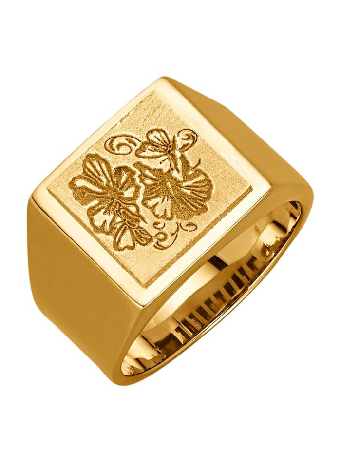 Diemer Gold Damenring, Gelbgoldfarben