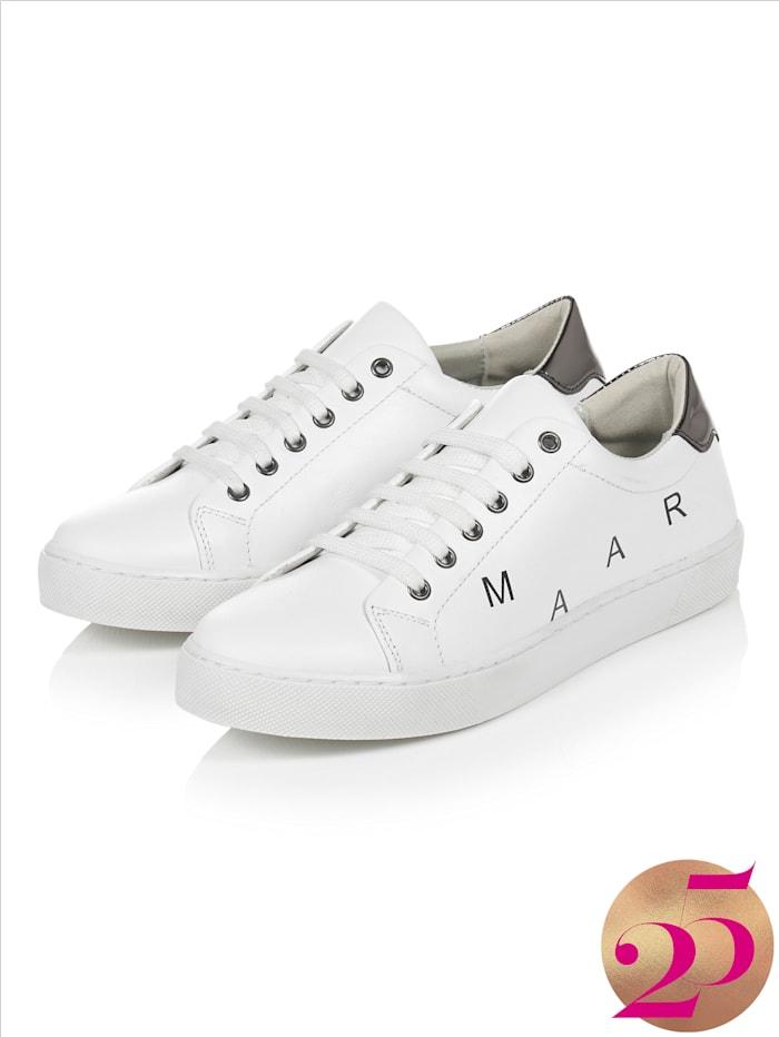REKEN MAAR Sneaker, Jubiläumskollektion, Weiß