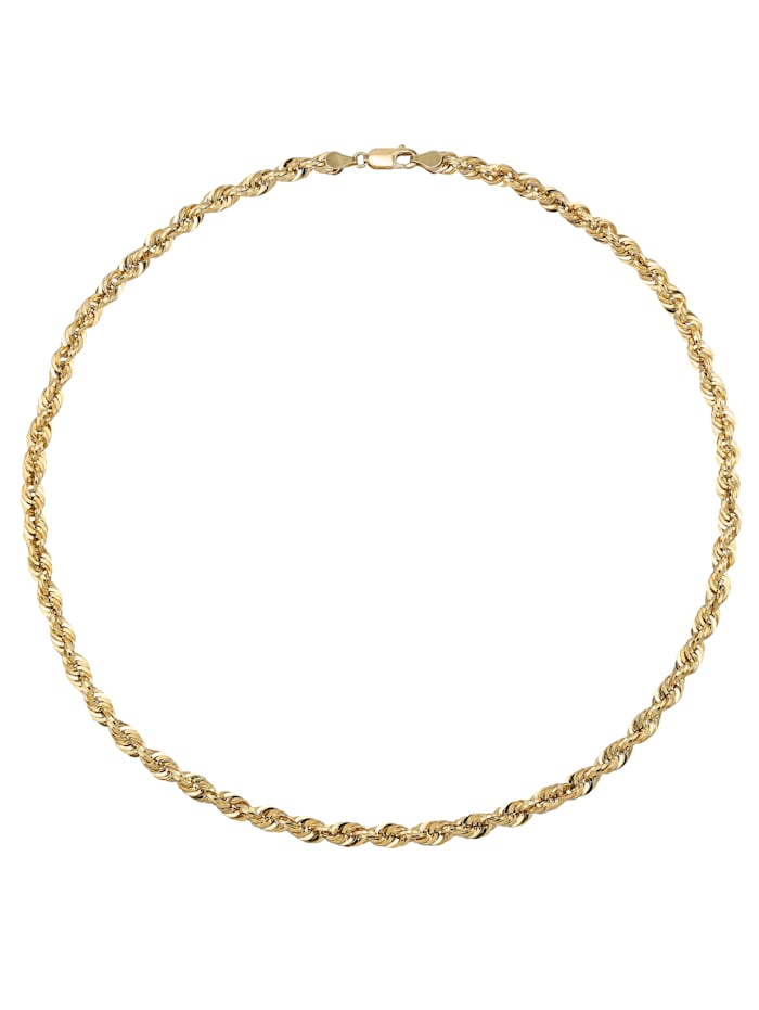Chaîne maille cordon or jaune 585