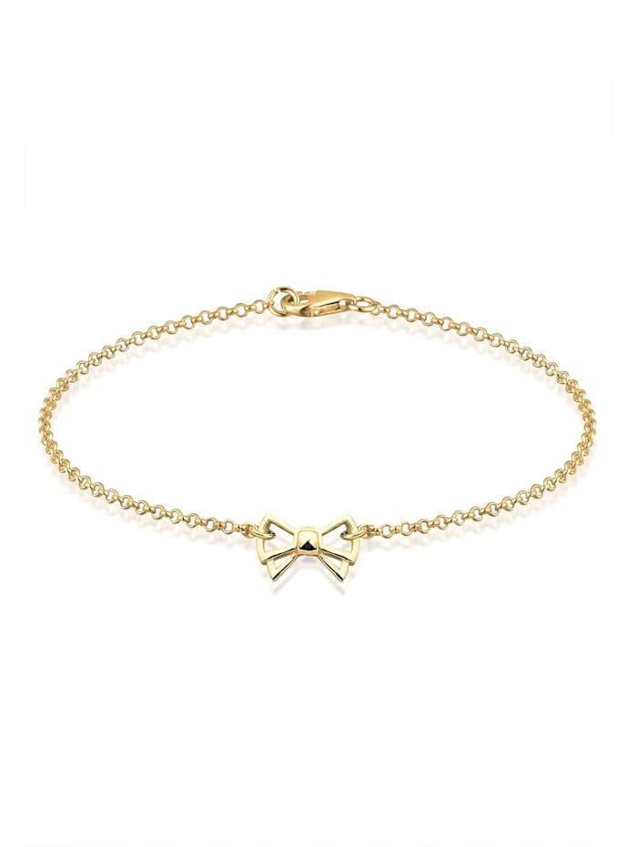 Elli Armband Schleife 925 Sterling Silber, Gold