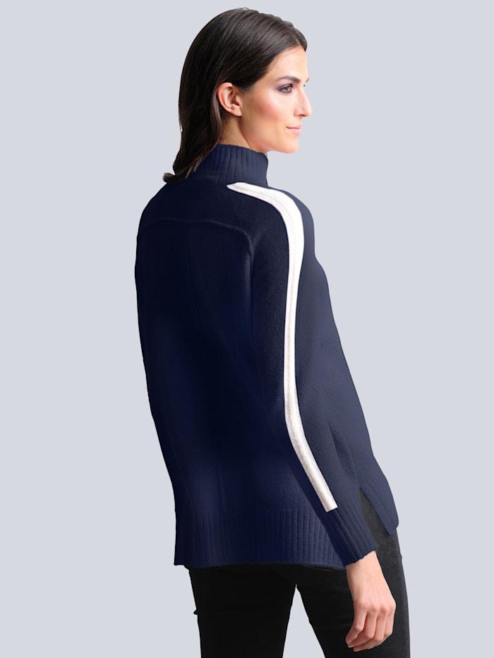 Pullover mit hochwertigem weichem Alpakaanteil