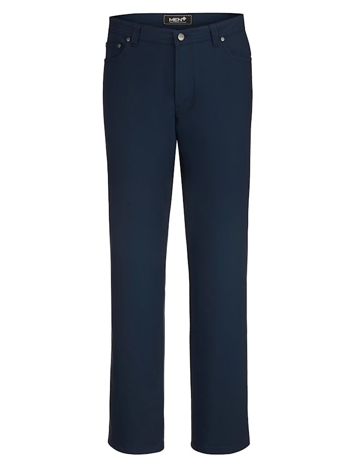 Men Plus High Stretch Hose, Marineblau
