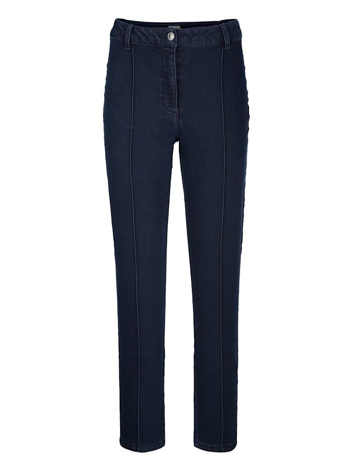 Jeans mit Biese im Vorderteil