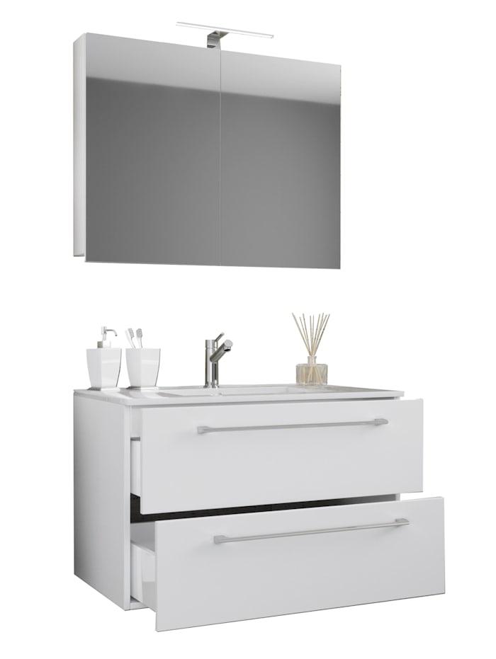 3.-tlg. Waschplatz Waschtisch Badinos mit Schublade