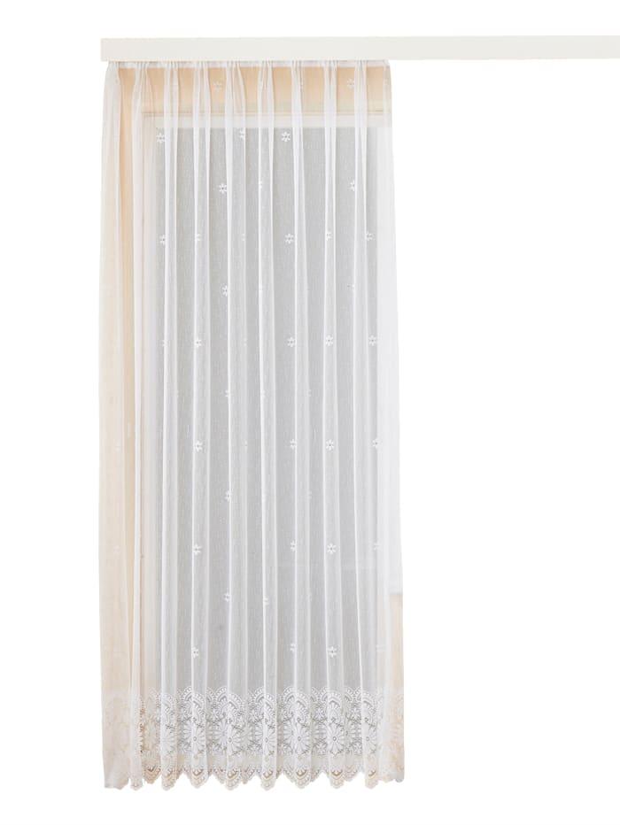Home Wohnideen Žakárová záclona s páskou na automatické riasenie, biela
