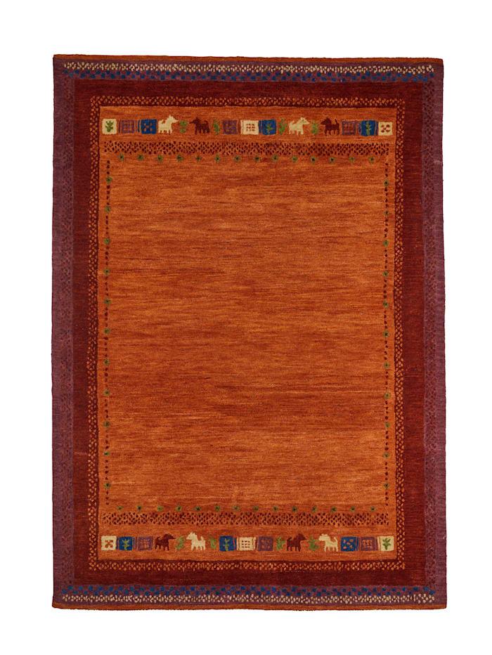 Webschatz Handtuftteppich 'Avan', Rot